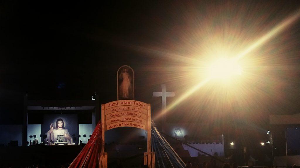 VIDEO: Vigilfeier mit Papst Franziskus