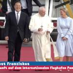 Die Ankunft des Papstes in Panama (MIT VIDEO)